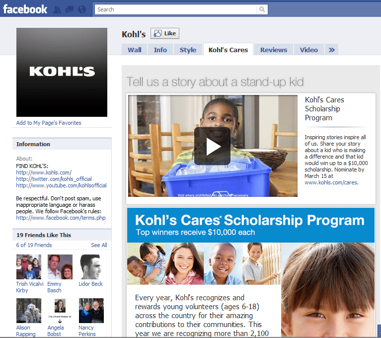10 Best Facebook Campaigns Kohl