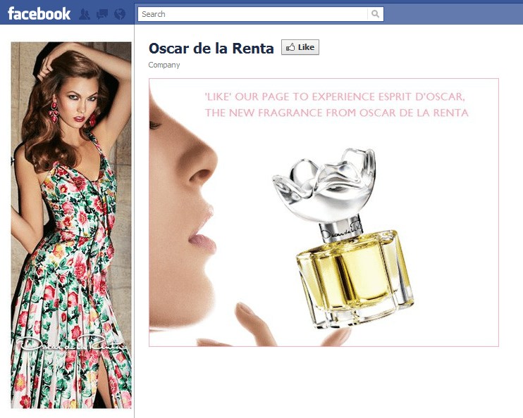 Oscar De La Renta Facebook High Resolution Images