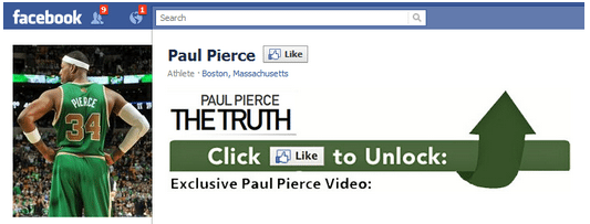 Facebook Reveal Page Paul Pierce