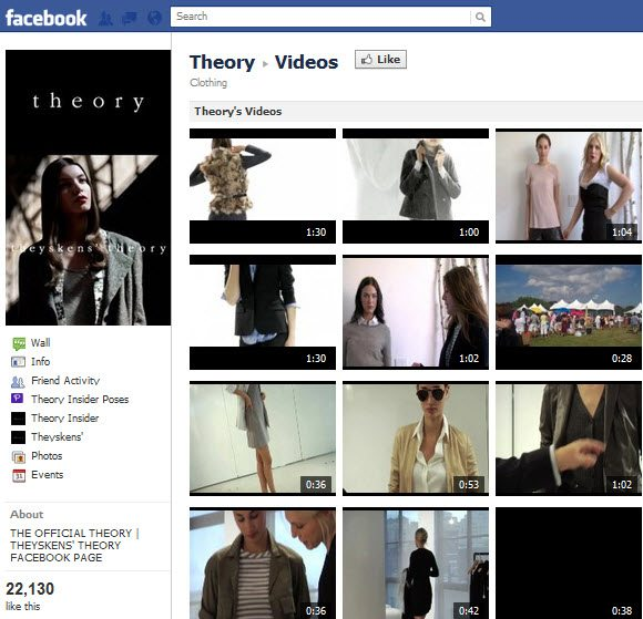 THeory Facebook Page