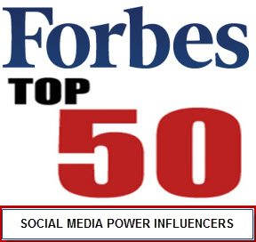 Forbes top social media power influencers50