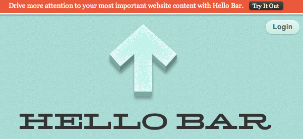 Hellobar WordPress plugin