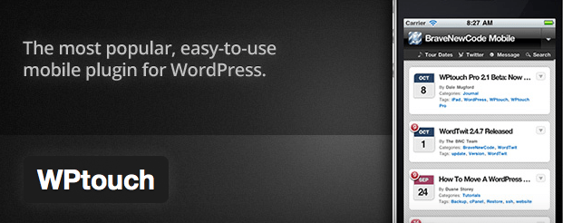 WP Touch WordPress Plugin