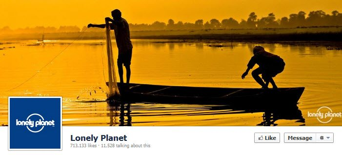 Facebook Lonely Planet