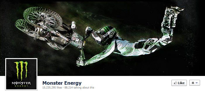 Facebook Monster Energy