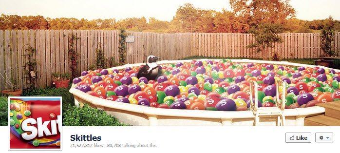 Facebook Skittles