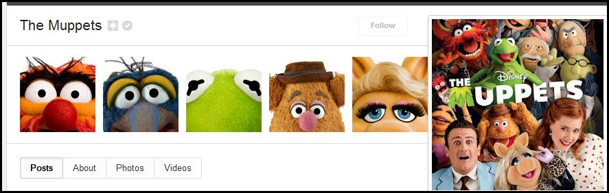 The Muppets Google plus cover images and photos