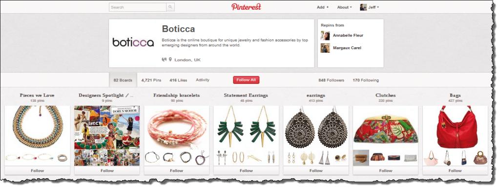 Boticca Pinterest