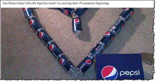 Pepsi Facebook page