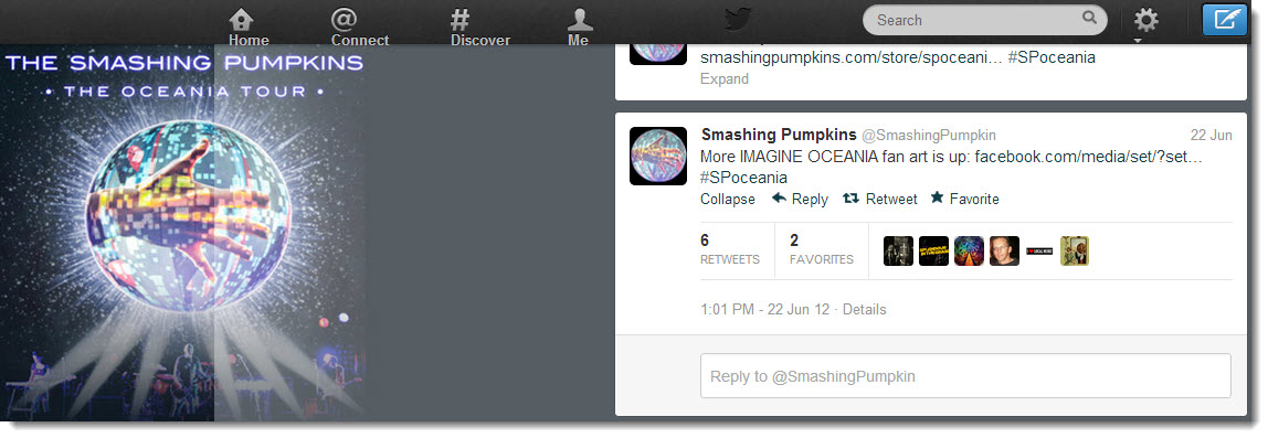 Smashing Pumpkin Social Media Competition on Twitter for Imagine Oceania