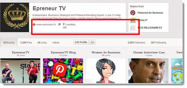 How to verify your pinterest account  and why you should