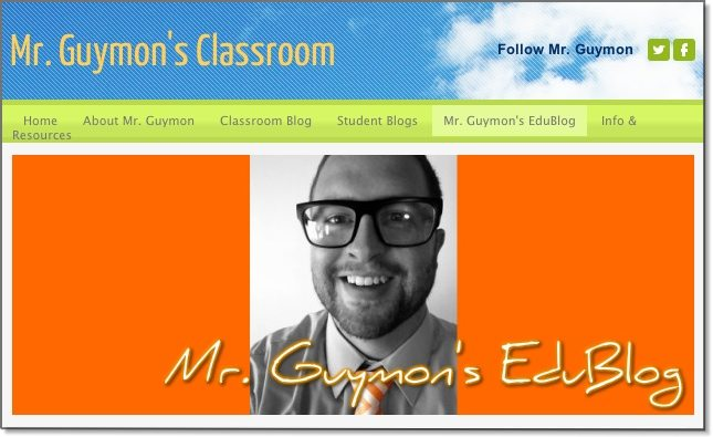 Mr Guymon's Classroom Blog