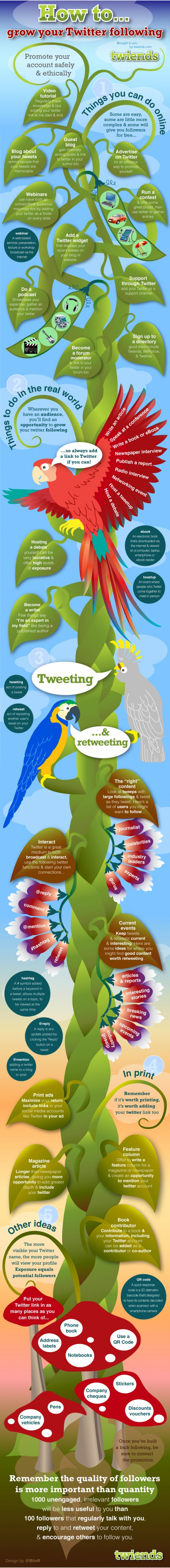 40 Ways to Increase your Twitter Followers - Infographic | Jeffbullas's Blog