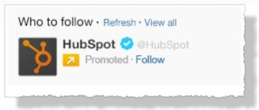 Huspot promoted acount