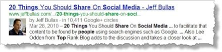 SEO Google Authorship