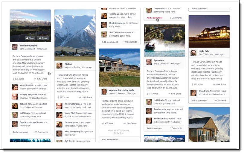 Content board Shuttlerock