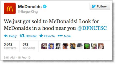 Burger King Twitter account hijacked