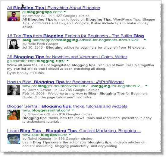 Insights into Google Authorship and Search