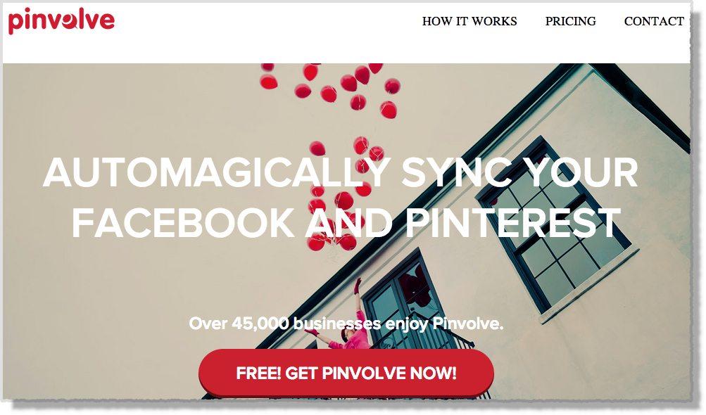 Pinterest tool Pinvolve
