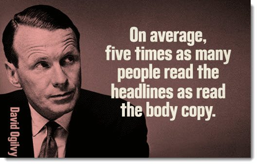 The importance of a headline for content marketing