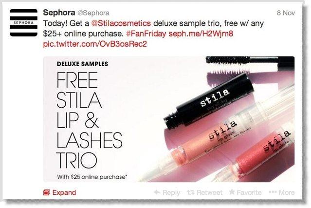 Sephora Twitter