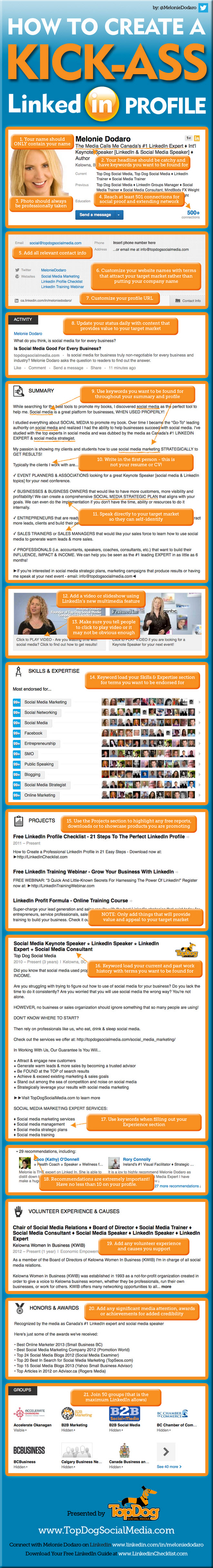 How to create an awesome LinkedIn Profile