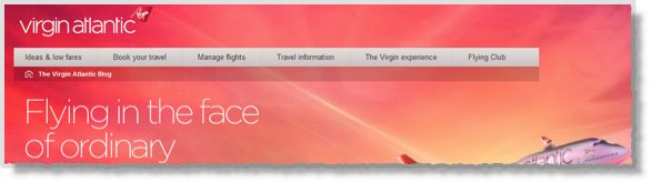 Virgin Atlantic Blog