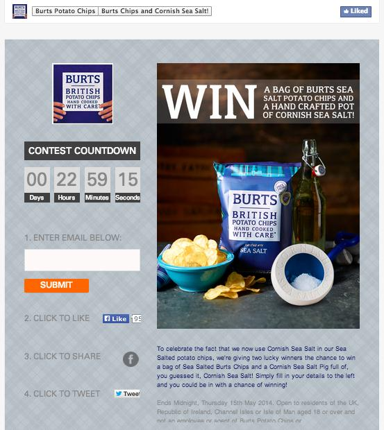 10 Facebook Contests that Captured 10,000 Emails 3