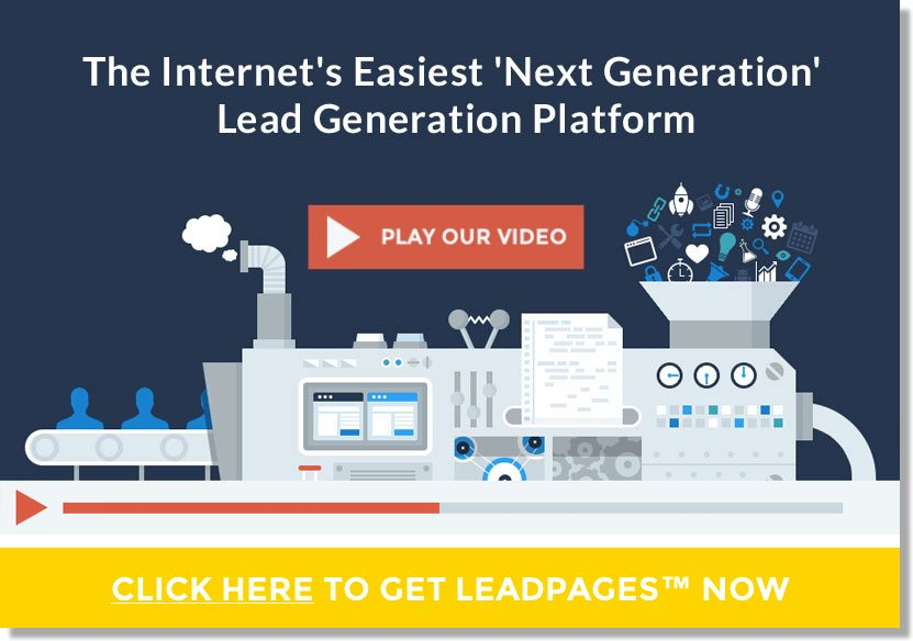 Leadpages.net landing pages for email capture