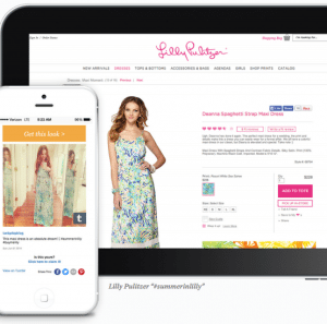 Lilly Pulitzer Auto response to get look