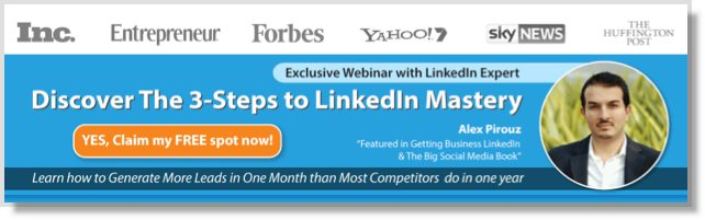 Free Webinar On LinkedIn