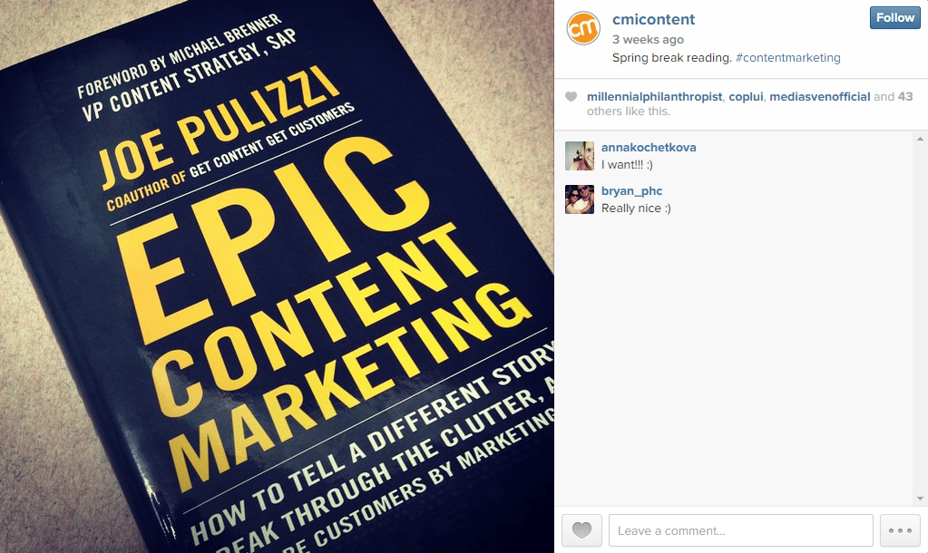 For Social Marketers: Instagram Accounts You Should Follow 2