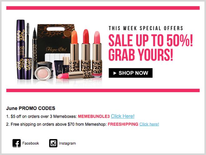 Lipstick deal for millennials