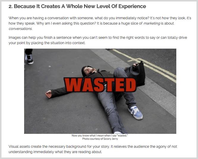 Screenshot for millennials creativity