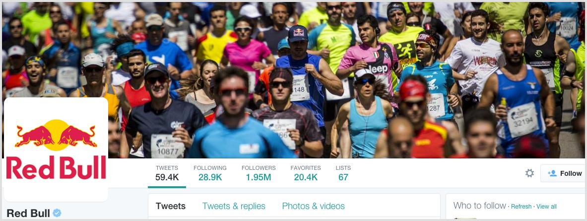 Twitter profile designs