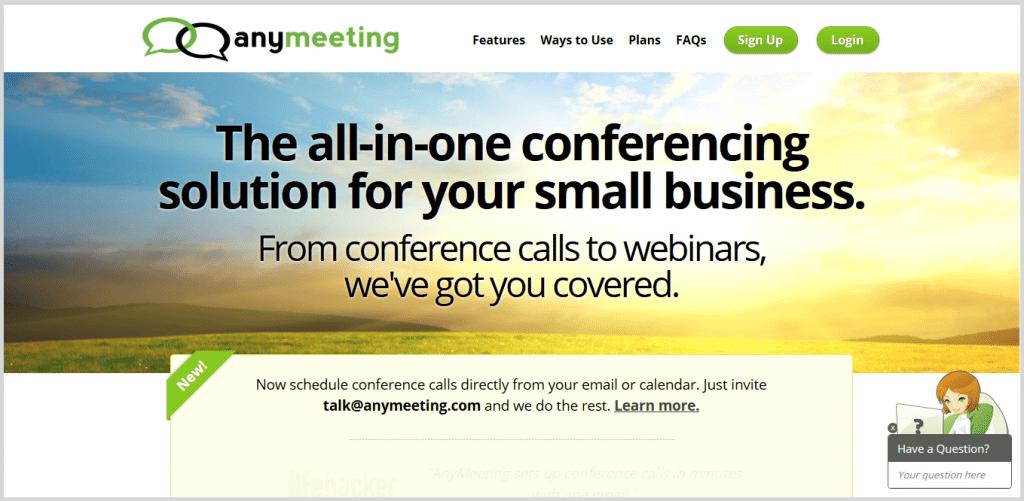anymeeting online meeting tool image