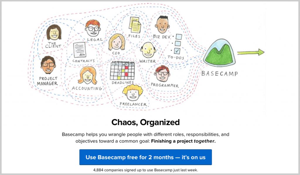 Basecamp call to atcion
