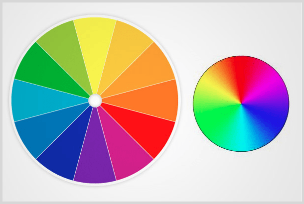Color wheels screenshot