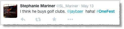 Digital marketing experts - Jay Baer tweet