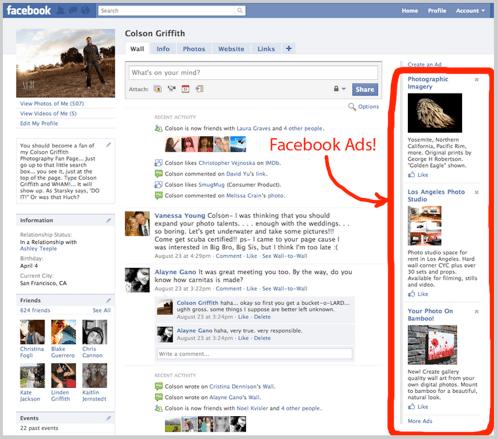 Facebook advertising image