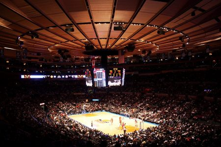 madison square garden NBA knicks match