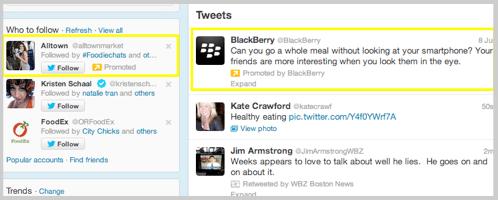 Twitter advertising image