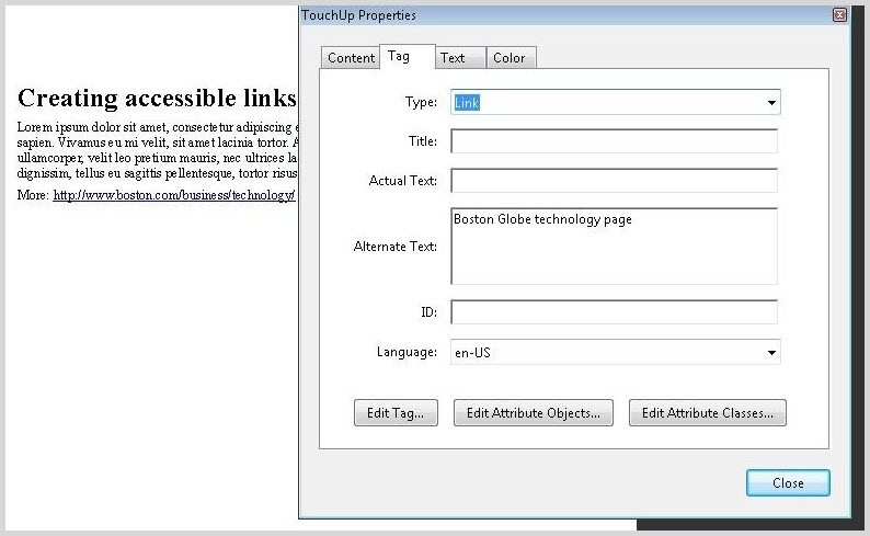 Image alt text example