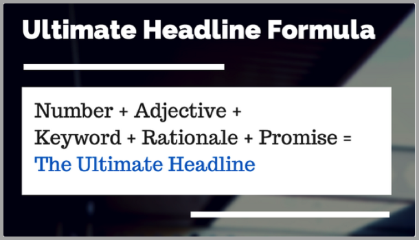 Headlines - reading your blog posts