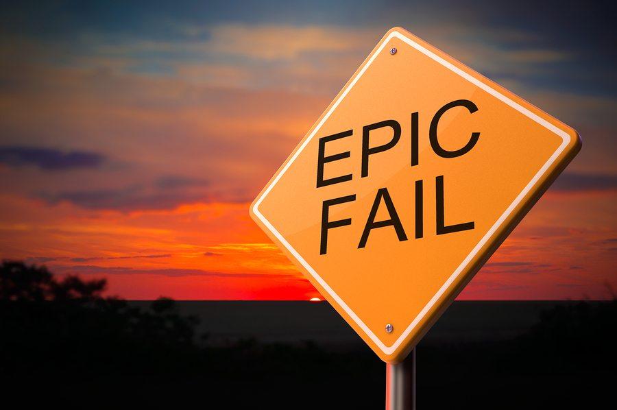 Social media marketing campaign fail header image