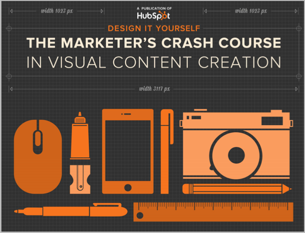 Visual creation ebook every content marketer should read