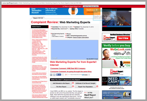 Web marketing experts - Won't buy from your website