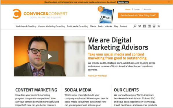 Convince & Convert - Top 50 Marketing Blogs