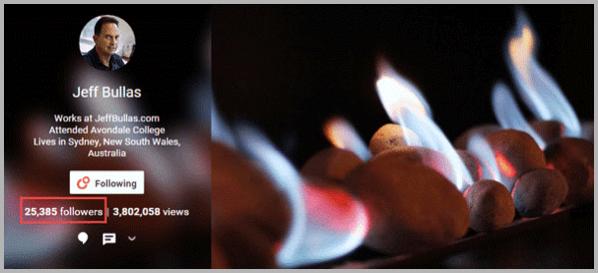 Google Plus example for social media hacks