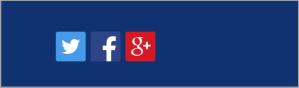 Social sharing - landing page